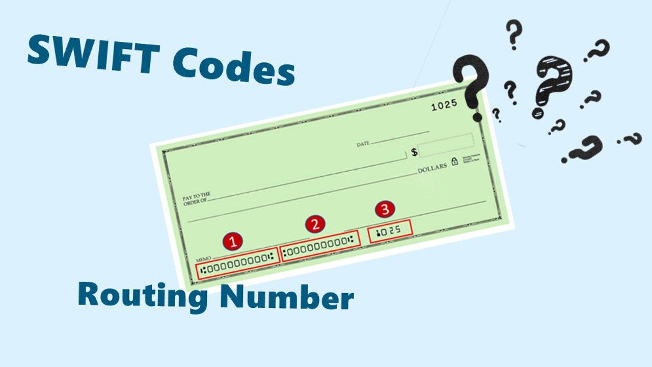 银行的各类代码是什么意思?Rounting Number,SWIFT Code是什么?