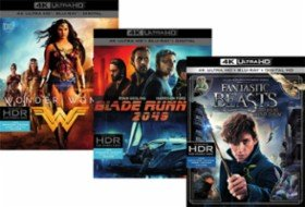 3 for $50Select 4K Movies Dunkirk,  Wonder Woman@Best Buy