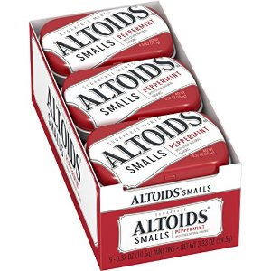 $6.7Altoids Smalls Peppermint Sugarfree Mints, 0.37 Ounce, 9 Count @ Amazon