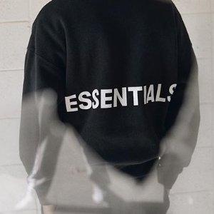 EssentialsXS补货logo卫衣