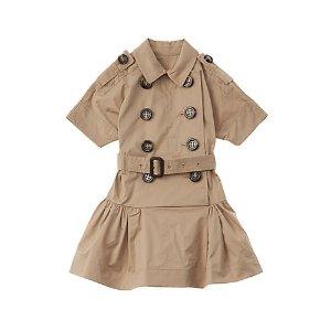 Burberry儿童连身裙