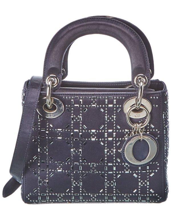 Blue Satin lady 手提包