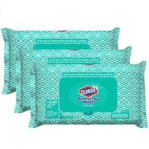 $14.99Clorox Disinfecting Bleach Free Cleaning Wipes, 75 Wipes, Pack of 3