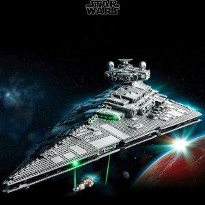 $699.99送$70积分+送礼 VIP已可入手上新:LEGO官网 星战UCS级 帝国歼星舰75252,10月1日上市