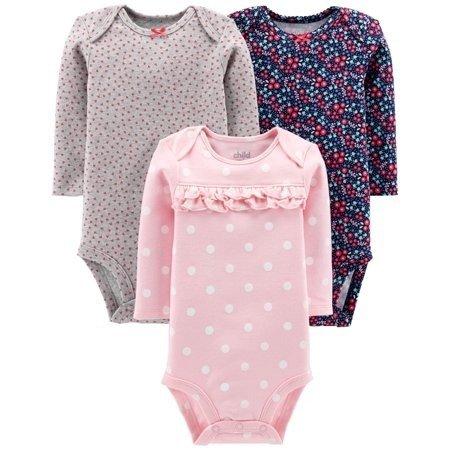 婴儿长袖包臀衫3件套