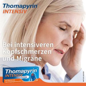 20片折后€5.74 15分钟起效Thomapyrin 头痛救星 赶走你的头痛/偏头痛 get好状态!
