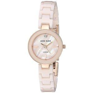 32f0e5c35 Anne KleinWomen's AK/2660LPRG Diamond-Accented Rose Gold-Tone and Light  Pink Ceramic. $41.21 $79.99. Anne Klein Women's ...
