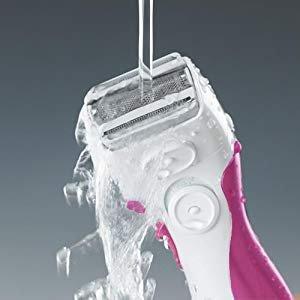 $16.99 销量冠军Panasonic ES2207P 女士3刀头拱形剃毛器 干湿两用