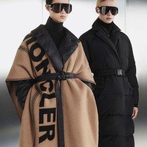 变相6.8折起 毛线帽$136Moncler 羽绒之光专场 收面包服、轻薄外套、针织衫等