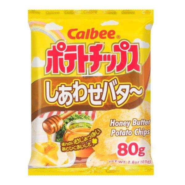 CALBEE卡乐B 蜂蜜黄油味薯片 80g