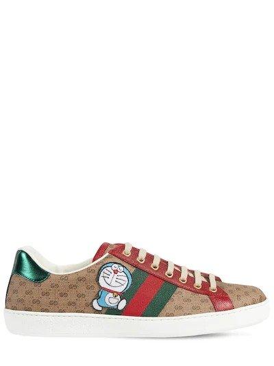 哆啦A梦老花运动鞋