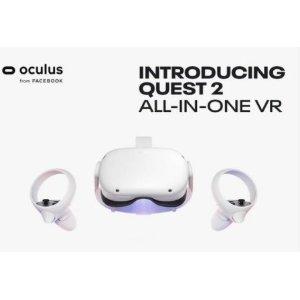 64GB 售价$299Oculus Quest 2  64GB/256GB 一体式VR设备 还有各类配件