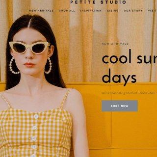 高妹也可以穿出的万种风情 | Petite Studio 2019春夏新款测评