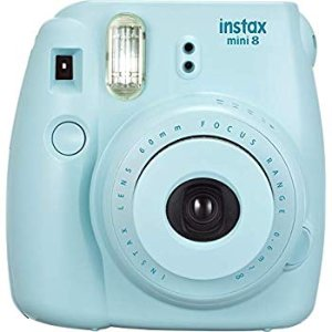 Amazon.com : Fujifilm Instax Mini 9 - Ice Blue Instant Camera : Electronics