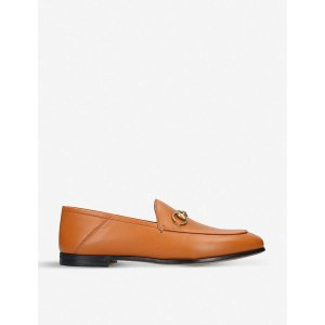 GucciBrixton leather loafers