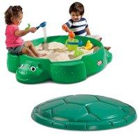 Little Tikes 乌龟造型连盖玩沙盒