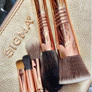 全场低至6折Sigma Beauty 化妆刷促销 收3D粉底刷、眼影刷套装