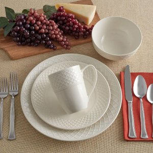 MikasaNapa Countryside 32 Piece Dinnerware Set, Service for 8