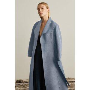 Collar Wool Coat