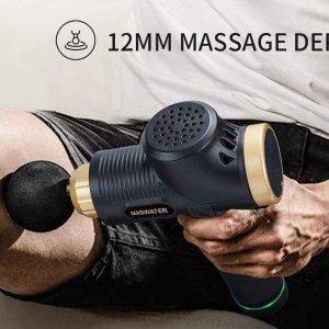 $57.99(原价$99.99)闪购:筋膜枪 深层按摩缓解肌肉酸痛 6档变速6个替换头