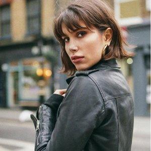 低至6折+额外8折上新:Allsaints 英伦朋克风 时尚服饰特卖,收爆款皮夹克