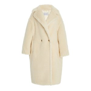 Max MaraOversized Alpaca-Blend Teddy Coat