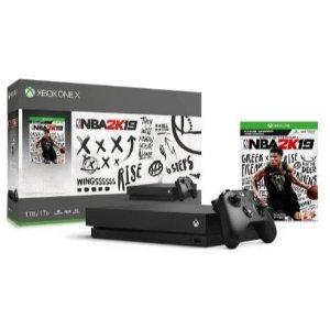 Xbox One X 1TB Console NBA 2K19 Bundle