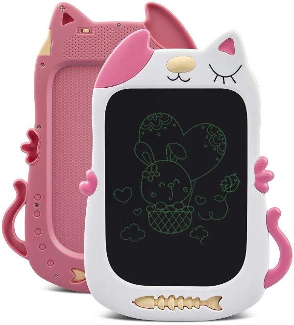儿童LCD猫咪造型电子涂鸦板