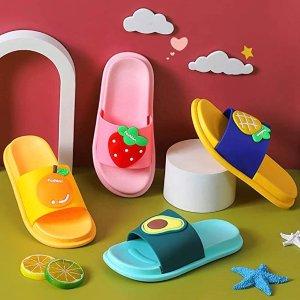 5折 $6.99收Anrenity 超可爱儿童卡通拖鞋,多款可选