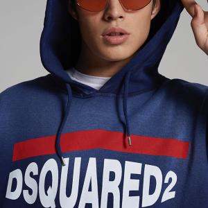 闪促8折 封面款卫衣£316闪购:DSquared2 全场48H闪促开始 明星都爱的牛仔品牌 个性与时尚的冲击