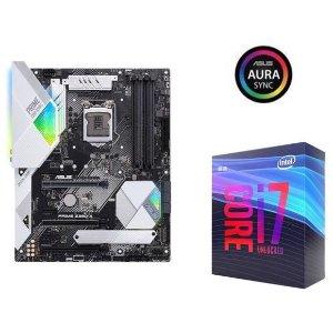 Intel Core i7-9700K + ASUS Prime Z390-A Motherboard