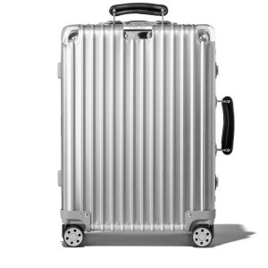 Classic Cabin Aluminum Carry-On Suitcase | Silver | RIMOWA