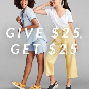 Give $25, Get $25Refer a Friend! Shoes Sale @Clarks