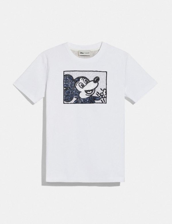 Mickey Mouse X Keith Haring T恤