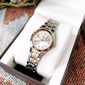 $41.37(原价$49.96)闪购:Anne Klein 女士105491SVTT 时装手表