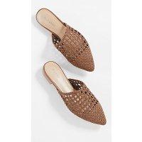 Villa Rouge Stacey 编织穆勒鞋