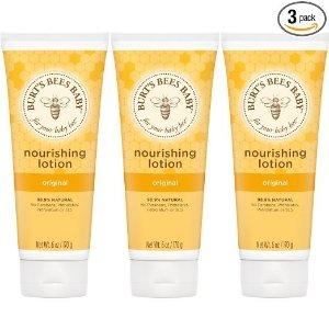 Burt's BeesBaby Nourishing Lotion, Original, 6 Ounces (Pack of 3) (Packaging May Vary)