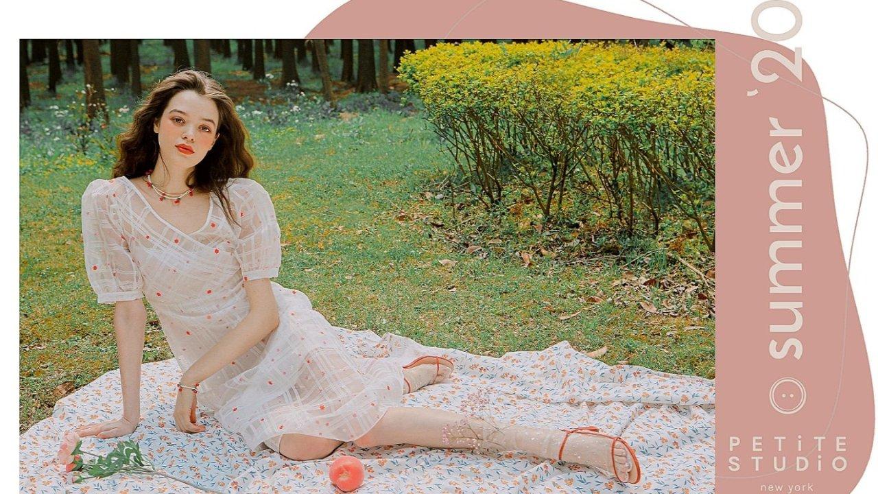 Petite Studio夏季新款美衣|法式美裙,复古配色,仙气穿搭必备!