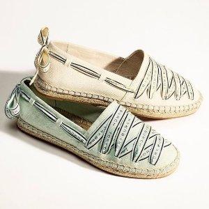 低至5折 £114收封面爆款渔夫鞋Tory Burch 美鞋专场大促 收经典芭蕾舞鞋、渔夫鞋