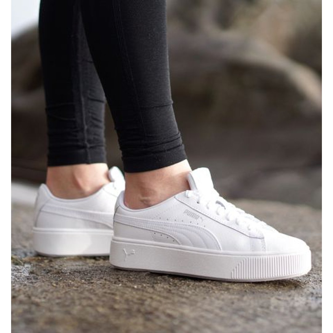 Vikky Stacked 真皮款女鞋多色选