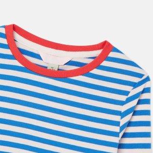 Joules儿童条纹长袖T恤