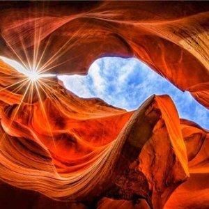 东南双峡+羚羊彩穴(4天)直升机俯瞰大峡谷+羚羊彩穴网红拍照点+环游鲍威尔湖+马蹄湾