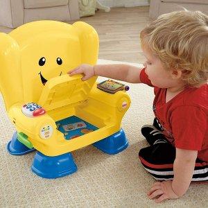 $18.97(原价$69.99)史低价:Fisher-Price 费雪宝宝玩乐学习椅,会唱歌的小椅子,辣妈看过来