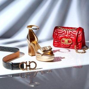低至5折 粉色经典蝴蝶结芭蕾鞋$349Gilt 精选 Salvatore Ferragamo 美包美鞋专场特卖