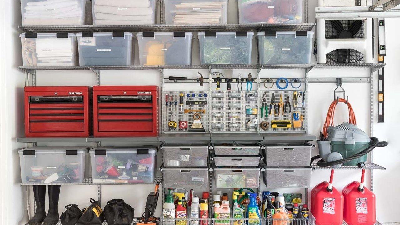 DIY收纳车库!整理车库,告别乱糟糟的车库,分类归纳今天就开始!