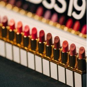 9折+送最高$100礼卡Tom Ford 彩妆产品促销 收限量款唇膏、4色眼影