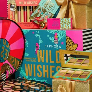 无门槛8折 北美断货王超值收黑五价:Sephora 自营款参与大促 圣诞日历、礼盒都参加