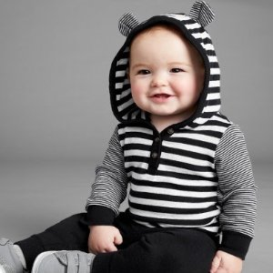 两件套$9 三件套$12 起Carter's 低至3.7折 宝宝套装热卖,双倍积分
