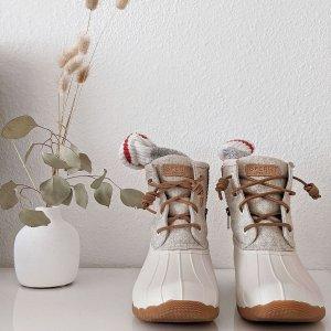 低至5折+额外8.5折Sperry 黑五大促 精选鞋履热卖 收封面款雪地靴