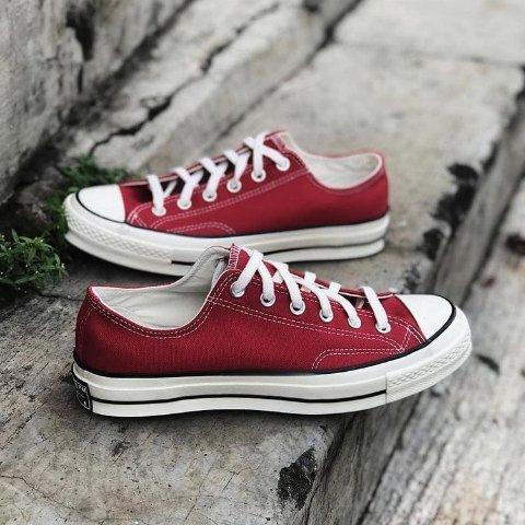 低至3折Converse 红色专场 复古小脏鞋、圣诞格纹、联名款热卖